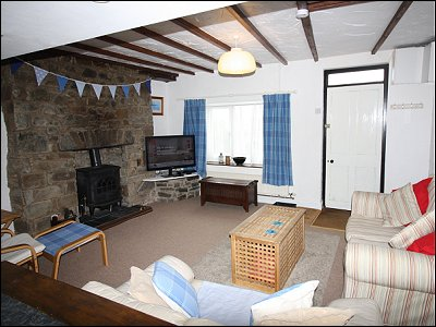 The cbview in New Quay Caravan