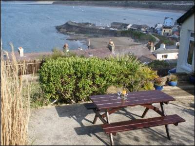 The Lookout in New Quay